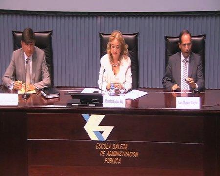 Coloquio dos relatores da sesión vespertina  - III Foro de emprego público